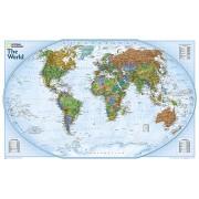 Wereldkaart World Explorer, 81 x 51 cm | National Geographic