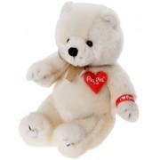 Bauer 17085 - Peluche Pia Pia Club Polar Bear Sitting, 17 cm