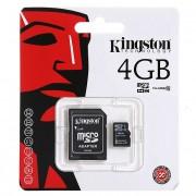Card memorie Kingston MicroSDHC 4Gb Blister