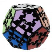 Engranaje educativo dodecaedro cubo magico rompecabezas de juguete de regalo - Multi-Color
