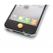 iPhone iPad iPod Lyx Hemknapp (Orange)