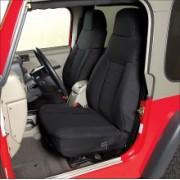Set Huse Scaune FATA - Fabric Custom-Fit Front Seats Covers pt. 03-06 Jeep Wrangler TJ & Unlimited