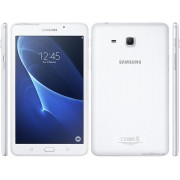 "Samsung Galaxy Tab A 7"" 4G LTE/1280x800/QC 1.3GHz/1.5GB/8GB/2Mp+5Mp/GPS/Android 5.1/283g/White"