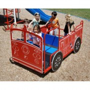 Kidstuff Playsystems, Inc. Spring Kid Vision Style Fire Engine 69608
