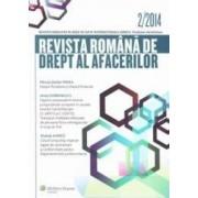 Revista Romana de Drept al afacerilor 22014