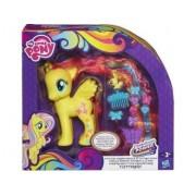 My Little Pony Fluttershy Beaute Et Coiffure - Mon Petit Poney Jaune Cheveux Long - Hasbro