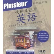 Pimsleur English for Chinese (Mandarin) Speakers Quick & Simple Course - Level 1 Lessons 1-8 CD by Pimsleur