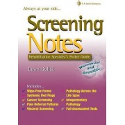Screening Notes: Rehabilitation Specialist's Pocket Guide by Dawn Gulick