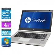 HP EliteBook 8460P - 14'' - Intel Core i5 2520M / 2.50 GHz - RAM 4 Go - HDD 250 Go - DVDRW - Webcam - Gigabit Ethernet - Wifi - Windows 7 Professionnel