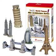 3D Puzzle - Mini World Architecture Series 1 (japan import)