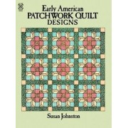 Early American Patchwork Quilts to Color by Susan Johnston