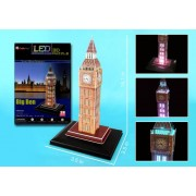 Big Ben 3D Puzzle with Base & Lights