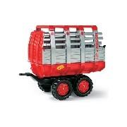 Rolly Toys Hay Wagon utánfutó piros