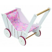Zapf Creation 817001 Born Baby ® carrozzina bambola di legno e girello