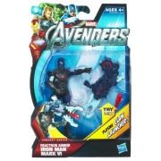 Marvel Avengers Movie Series 07 Reactron Armor Iron Man Mark Vi