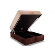 Conjunto Box Baú Colchão Ortobom Apollo Viscomemory + Cama Box Baú Ortobom Rosolare - Conjunto Box Solteiro - 088 x 188