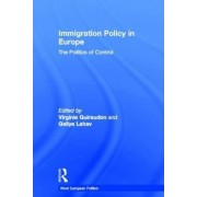Immigration Policy in Europe by Virginie Guiraudon