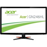 "Monitor LED Acer 24"" GN246HLBBID, Full HD (1920 x 1080), HDMI, VGA, DVI-D, 1 ms (Negru)"