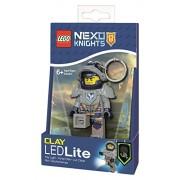 Rocco Giocattoli LGL-KE87 - Lego Portachiavi Nexo Knight Clay