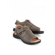 Walbusch Wohlfühl-Sandale Grau 43