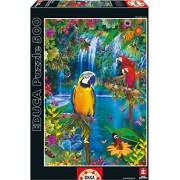 Educa 15512 500 - Isola Tropicale Degli Uccelli