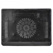 "USB 2.0 Cooling Pad Fan Cooler for 14"" Notebook Laptop - Black"