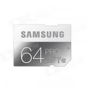 Samsung MB-SG64D/AM Electronics PRO SDXC Memory Card - Grey (Class 10 / 64GB)