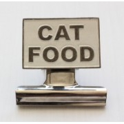 Cat Food Bulldog Clip