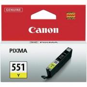 CANON CLI-551Y, Yellow InkJet Cartridge (BS6511B001AA)