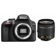 Nikon D3300 kit (AF-P 18-55mm VR) (negru)