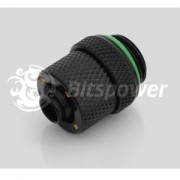 Fiting compresie alama Bitspower 1/4inch la 10/8mm Matte Black
