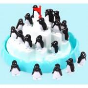 Magideal Blue Penguin Pile-Up Board Game Balancing Game Family Fun Developmental Game
