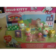 Hello Kitty Picnic Party Figure Pack Hello Kitty World Playset