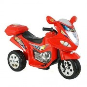 Zeny New Kids Ride On Motorcycle 6 V Toy Battery Powered Electric 3 Wheel Power Bicyle, Red