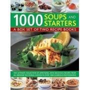 1000 Soups and Starters: A Box Set of Two Recipe Books by Bridget Jones