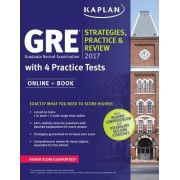 GRE 2017 Strategies, Practice, and Review with 4 Practice Tests: Online + Book