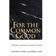 For the Common Good by Matthew Finkin