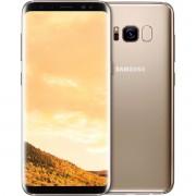 Telefon mobil Samsung G950F Galaxy S8, Dual Sim, 4G, RAM 4GB, Stocare 64GB, Gold