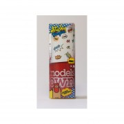 Models Own Sticky finger (Stickers incluidos) Red Alert Pow Nails Esmalte 14 ml