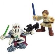 Hasbro 85400 Star Wars Galactic Heroes Mini-Figure 2 Pack - Obi-Wan Kenobi & General Grievous
