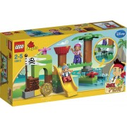 LEGO DUPLO Jake en de Nooitgedachtland Piraten Nooitgedachtland Schuilplaats - 10513