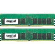 Kit Memorie Server Crucial ECC UDIMM 2x16GB DDR4 2133MHz CL15 Dual Rank x8 Dual Channel