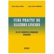 Curs practic de algebra liniara cu 327 exercitii si probleme rezolvate.