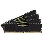 Corsair CMK16GX4M4B3400C16 Vengeance LPX 16GB (4x4GB) DDR4 3400Mhz CL16 Mémoire pour ordinateur de bureau haute performance avec profil XMP 2.0. Noir