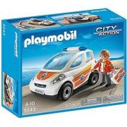 PLAYMOBIL Emergency Vehicle Building Kit