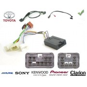COMMANDE VOLANT Toyota Hi-lux 2 5 D-4D 2010-2011 - Pour Alpine complet avec interface specifique