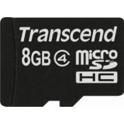 Card de Memorie Transcend microSDHC 8GB Class 4