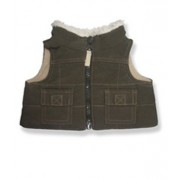 """Brown Vest 9029 Fits 15"""" 16"""" Bears, Includes Build A Bear, The Bear Mill, And Stuff Your Own Animals."""