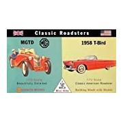 Glencoe Models 1:72 Scale Classic Roadsters MGTD/1958 Ford Thunderbird