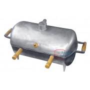 Churrasqueira alumínio bafo oval grande